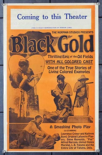 Black Gold (1927) Original Norman Studios Pressbook All Black Cast drama Very Fine Condition SEPARATE CINEMA item