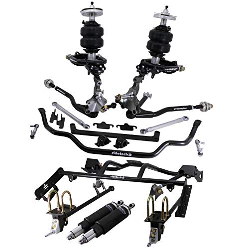 NEW RIDETECH AIR SUSPENSION SYSTEM,HQ SERIES SHOCKWAVES,TRUTURN STEERING,SPINDLES,FRONT MUSCLEBAR,STRONGARMS,BOLT-ON 4-LINK,COMPATIBLE WITH 1964-1966 FORD MUSTANG