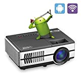 Pico Projector LCD Mini Projectors 1080P WiFi  Android Beamer Digital Proyector Home Theater Cinema Video Games Outdoor Party Portable