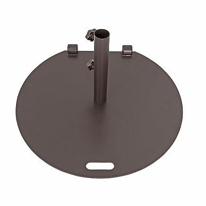 Amazon Com Sorara Umbrella Base Stand Weights 55 Lbs Steel Market
