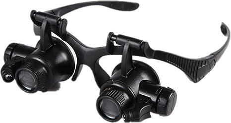 Jeweler Watchmaker 10X Eye Loupe Magnifier w// LED Light
