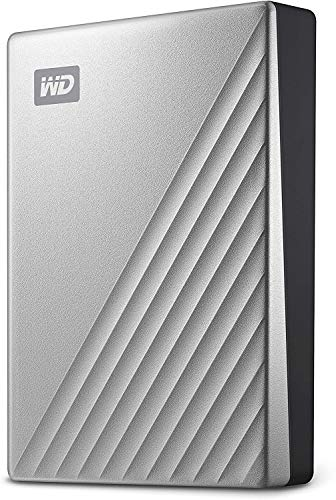 WD My Passport Ultra para Mac disco duro portátil 5TB, Listo para Time Machine y con seguridad mediante contraseña