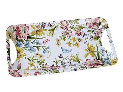 Creative Tops Katie Alice English Garden Shabby Chic Small Melamine Tray - Garden Melamine Handled Tray