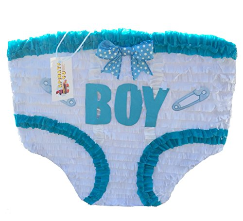 APINATA4U Baby Boy Diaper Pinata Baby Shower -