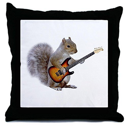 BrockOutletStore Pillowcases The squirrel is playing the guitar. 18x18(inches)