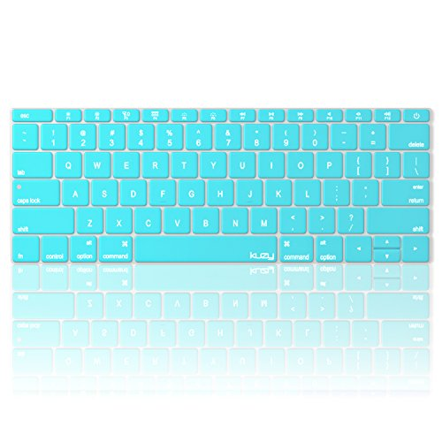 macbook keyboard cover teal - 2