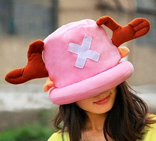 One Piece [ Tony Tony Chopper Style Hat ] Cosplay Costume Japanese Anime
