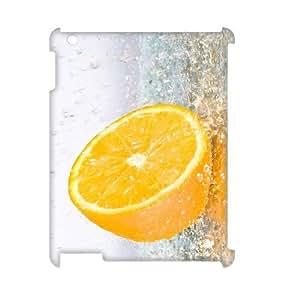Orange Phone Case For IPad 2,3,4 [Pattern-1] by lolosakes