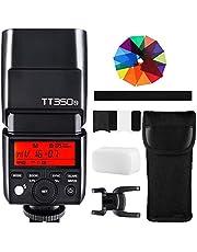 GODOX TT350N TTL Flash 2.4G 1/8000s High-Speed Sync GN36 Speedlite for Nikon Cameras D800 D700 D7100 D7000 D5200 D5100 D5000 D300 D300S D3200 D3100 D3000 D200 D70S D810 D610 D90 D750