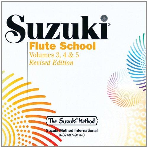 Suzuki Flute School, Vol 3, 4 & 5