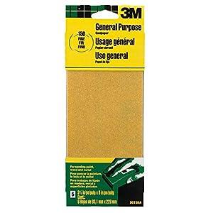 3M 9015 General Purpose Sandpaper Sheets