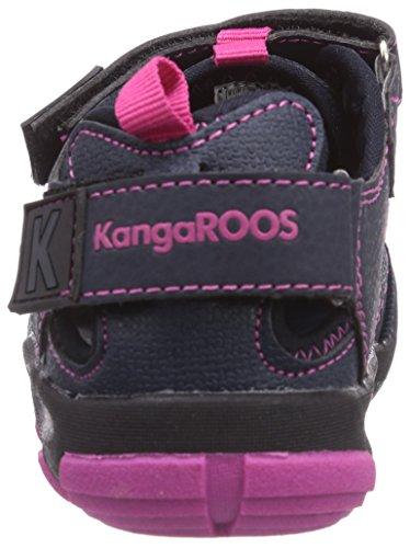 KangaROOS KangaSpeed 2068 - zapatilla deportiva de material sintético niño azul - Blau (dk navy/magenta 464)