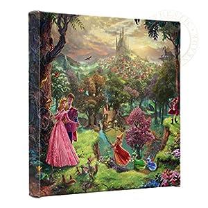 Thomas Kinkade – Gallery Wrapped Canvas , Sleeping Beauty , 14″ x 14″ , 59487