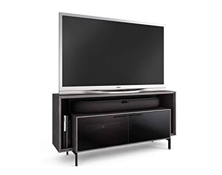 BDI 8168 GRA Cavo Double-Wide TV Stand Media Cabinet, Graphite