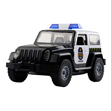 Police Car - Build Yourself DIY Racecar Assembly Kit Toy Racing Car Gifts Good for IQ EQ of Child Intelligence Development Brain Development Enlightenment Education