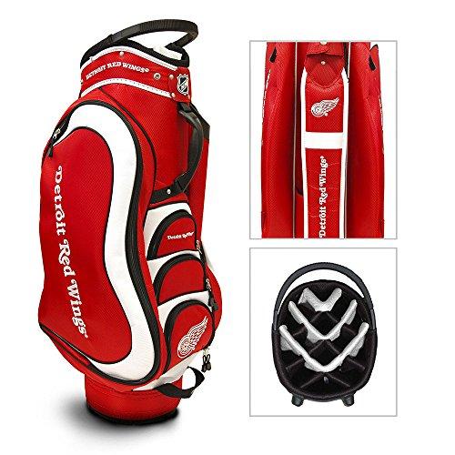 Team Golf Golf Bag - NHL Detroit Red Wings Medalist Golf Cart Bag