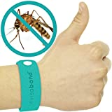invisaband 6 Pack Natural Mosquito Repellent Bracelets Band - 30 Day Protection - 100% Guaranteed To Work - No Spray, Deet Free Bracelet