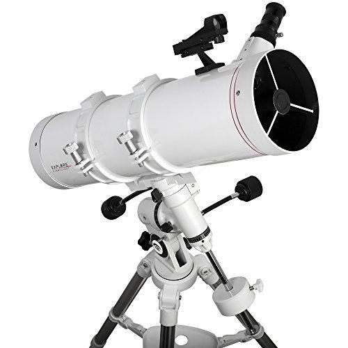 Explore Scientific FL-N130600EQ3 Newtonian Telescope with Exos Nano, 130mm, White