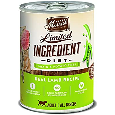 Merrick Limited Ingredient Diet Grain Free Real Lamb Canned Dog Food