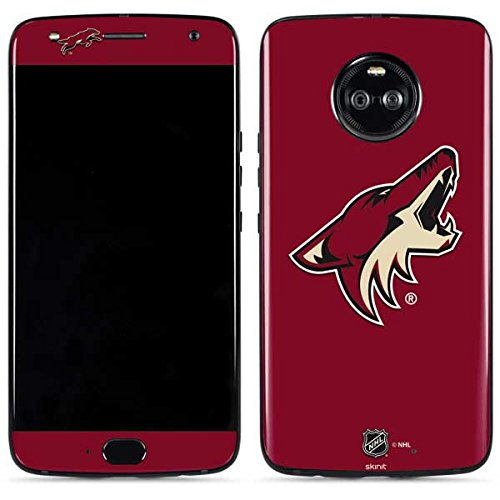 Arizona Coyotes Moto X4 Skin - Phoenix Coyotes Solid Background | NHL & Skinit Skin