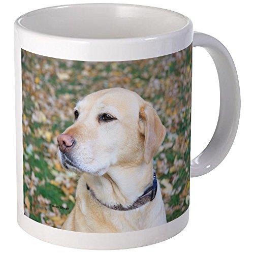 CafePress Yellow Lab #2 Portrait Mug Unique Coffee Mug, Coffee Cup
