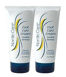 Nordic Care Foot Care Cream 6 oz. (Pack of 2)