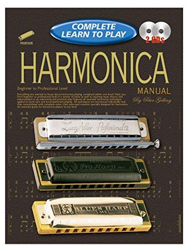 Harmonica Progressive (Progressive Complete Learn To Play Harmonica Manual - Partitions, CD)