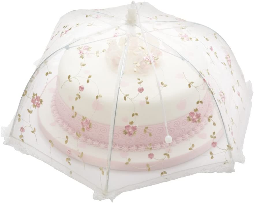 41cm Floral Sweetly Does It Umbrella Food Cover