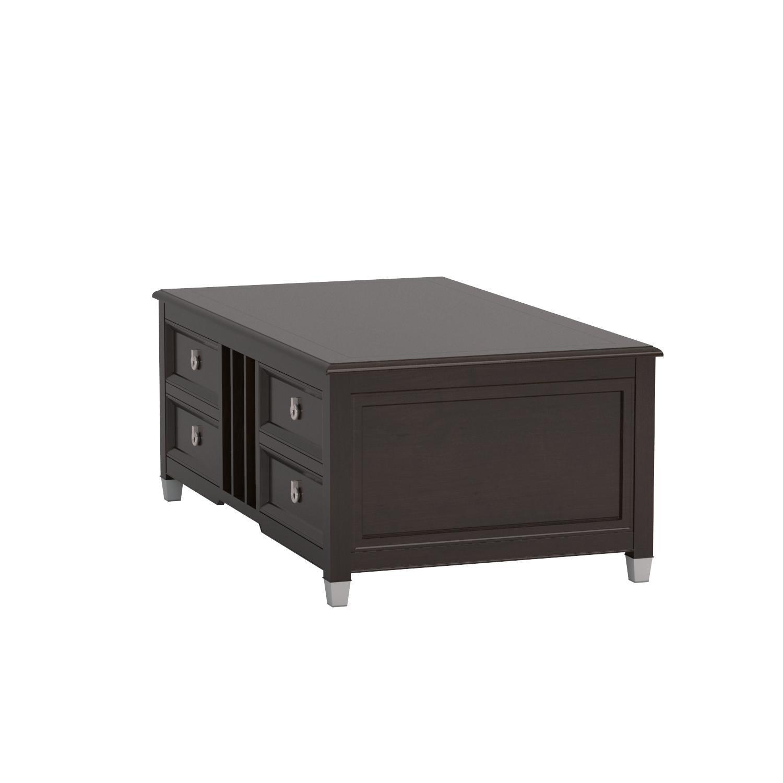Amazon Magnussen Darien Wood Lift Top Cocktail Table Kitchen