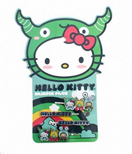 Hello Kitty Hair Pin (Hello Kitty Monsters 2-pack Hair Pins)