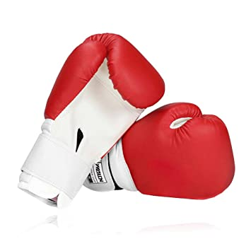 Junior Boxhandschuhe Boxsack Sparring Training Kickboxen 4,6 12 14,16oz 8,10