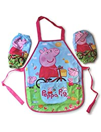 Peppa Pig Children's Overall (bib, pinafore, child's pinny) (Same Day Dispatch)