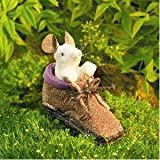 : Folkmanis Mouse in Shoe Finger Puppet
