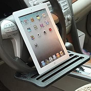 Atpmtas® Useful Computer Wordpad Desk Tray for Car Auto Ipad