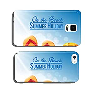 beach slipper cell phone cover case Samsung S6