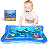 Joyjoz Tummy Time Baby Water Mat, Infant Toy Inflatable Play Mat, Fun Play Activity Center for Toddlers, Newbo