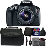 Canon EOS Rebel T6 18MP DSLR Camera with 18-55mm IS II Lens and Accessories