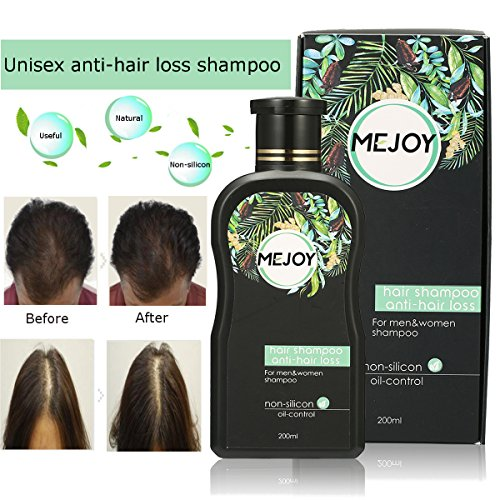 Anti-Hair Loss Shampoo For Men & Women, LuckyFine – Contains Herbal Ingredients, Helps Stop Hair Loss, Hair Growth, Stimulates Hair Re-growth Dandruff Treatment 200ML by Luckyfine (Image #6)