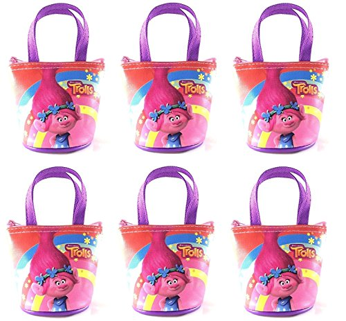 6 Piece Party Favors Dreamworks Trolls 4