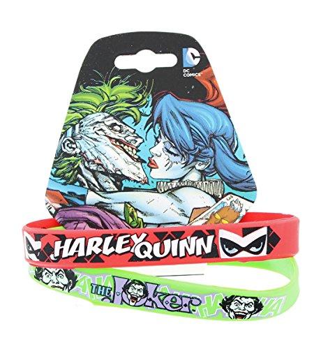 DC+Comics Products : DC Comics Harley Quinn & The Joker Bracelet Set