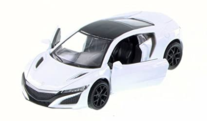 Amazon Com Rmz City 2017 Acura Nsx White 555031ac Diecast Model
