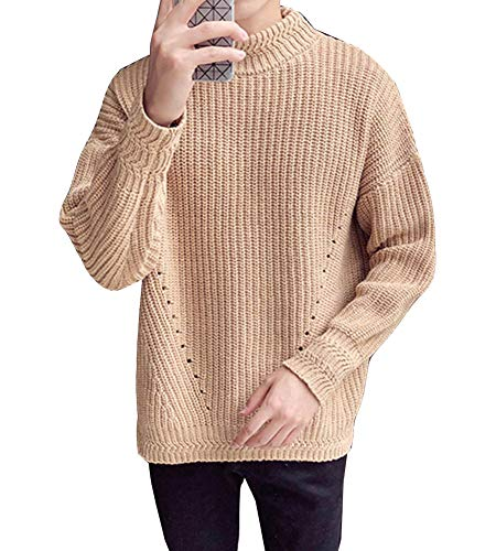 Pull Chameau Hiver Mengyu Automne Tricot Homme Col Rond 4SqO5Px