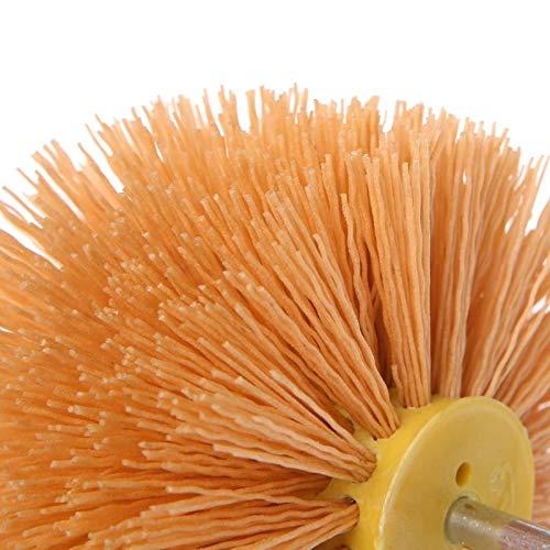 Maslin Deburring Abrasive Steel Wire Brush Polishing Grinding Buffing Mushroom Shank