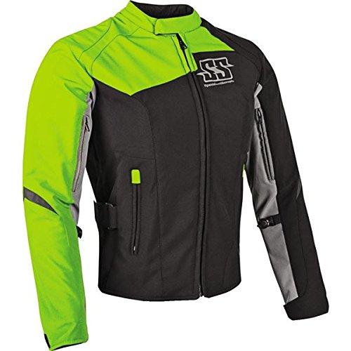 Rocket Suzuki Joe Textile (Speed and Strength Women's Back Lash Hi-Viz Textile Jacket, XL)