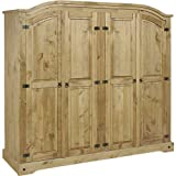 Seconique Corona 4 Door Wardrobe
