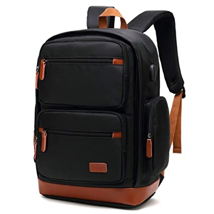 81fcf8710bf4 Amazon.com: Anti Theft Business Laptop Backpack with USB Charging ...