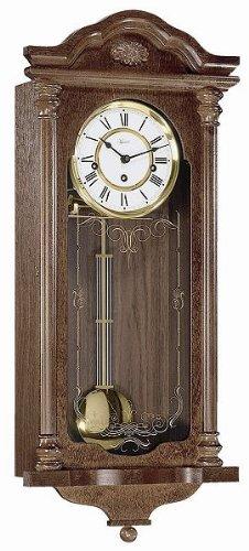 Reloj de pared péndulo mecánico regulador hermle - Fulham - 70509-030341: Amazon.es: Hogar