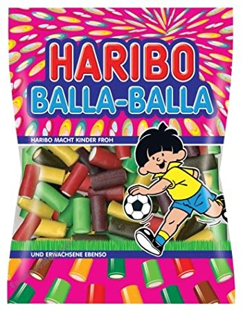 Haribo Balla-Bally Gummy Candy 175g/6 17oz