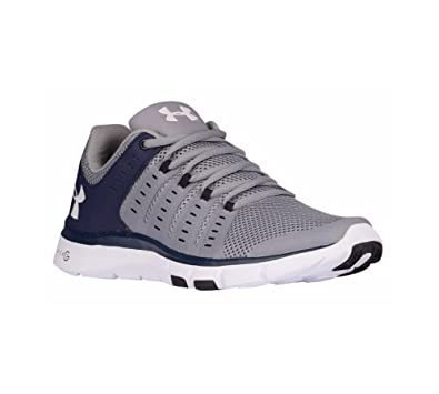 Under Armour Micro G Limitless Mens TR2 Training Shoe 1284864 (Steel/Navy  9.5)