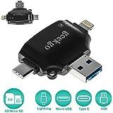 Geekgo SD/Micro SD Card Reader for iPhone...